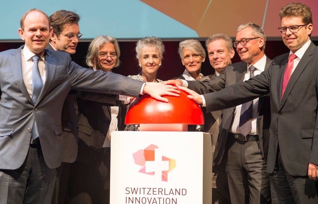 The launch of Switzerland Innovation, January 2016