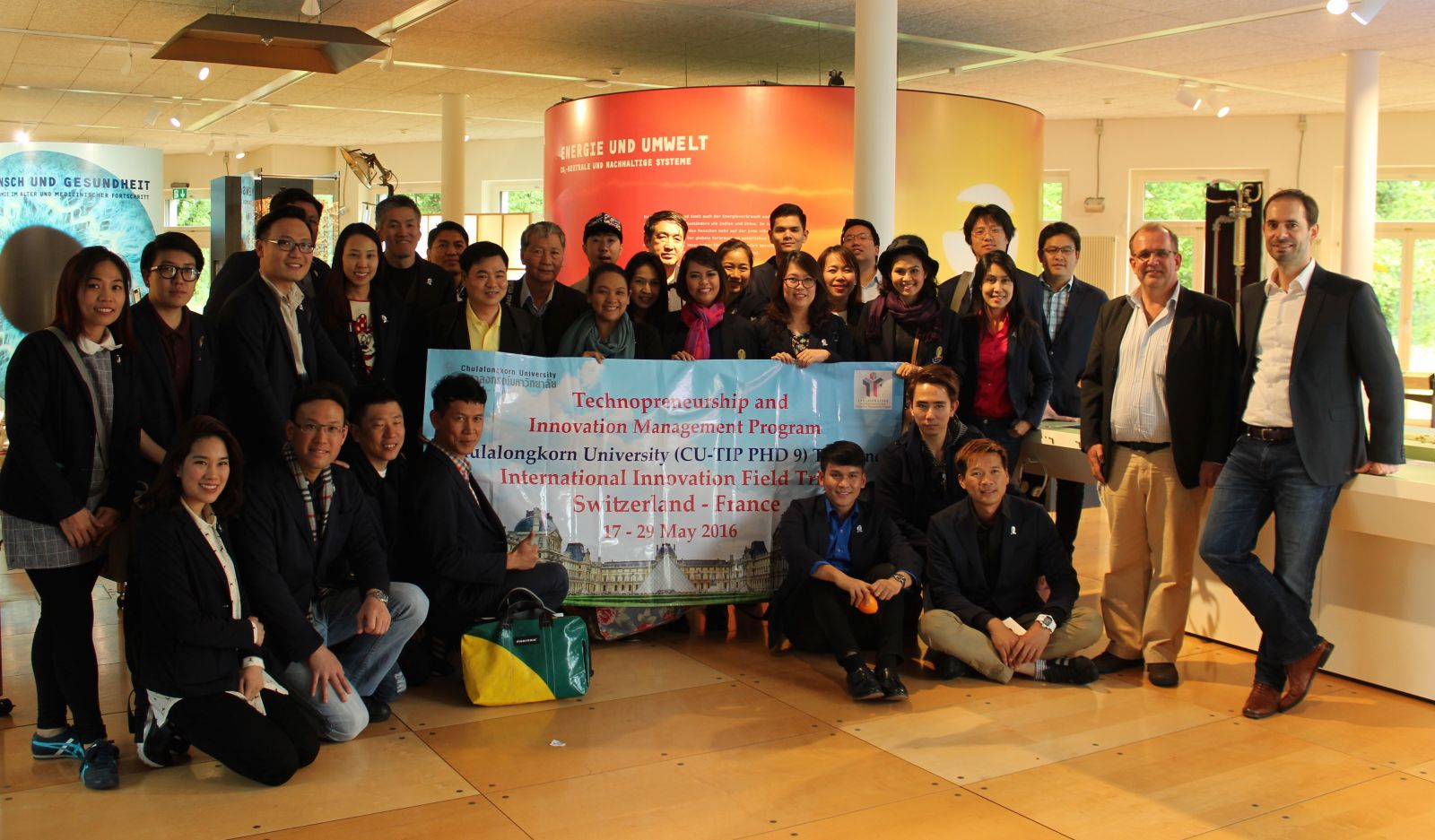 Raising international attention. The delegation from Thailand during their visit to PARK INNOVAARE