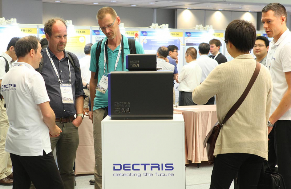 Dectris is now a world leader in detector technologies and sets the pace for the market. © Dectris AG