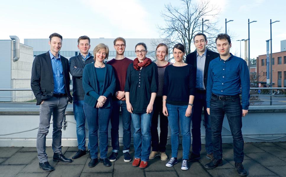 InterAx Biotech team. Photo credit: Paul Scherrer Institute (PSI).