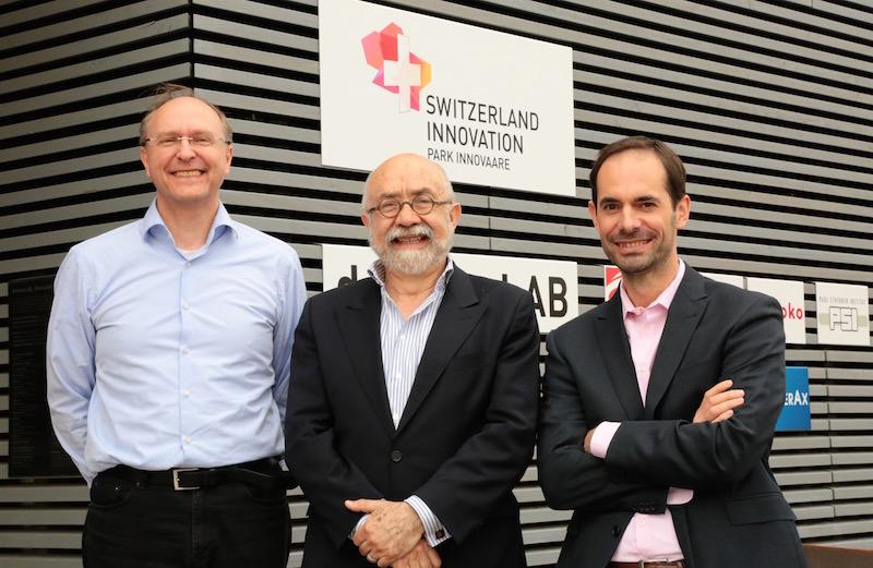 INNOVATION in PRACTICE speakers: Andreas Rülke, Dr. Rafael Abela, Nils Gebhardt.