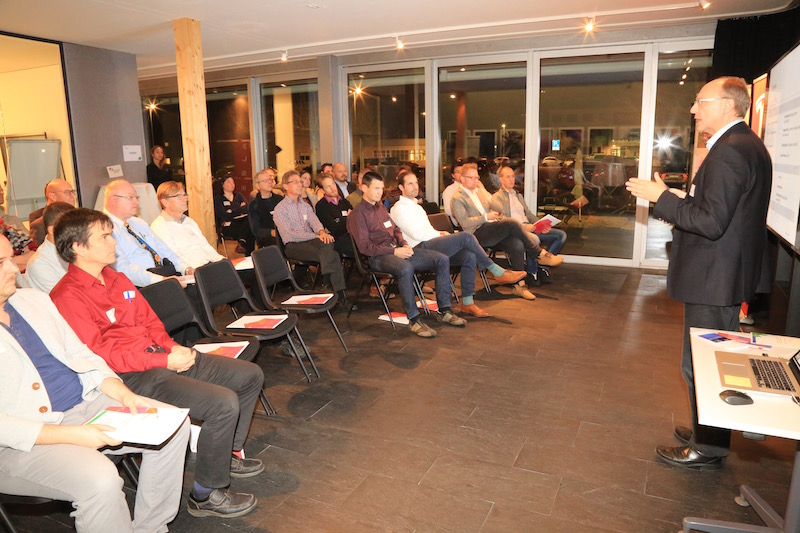 Over 40 participants attended the workshop and shared their ideas on how to achieve breakthrough innovation.