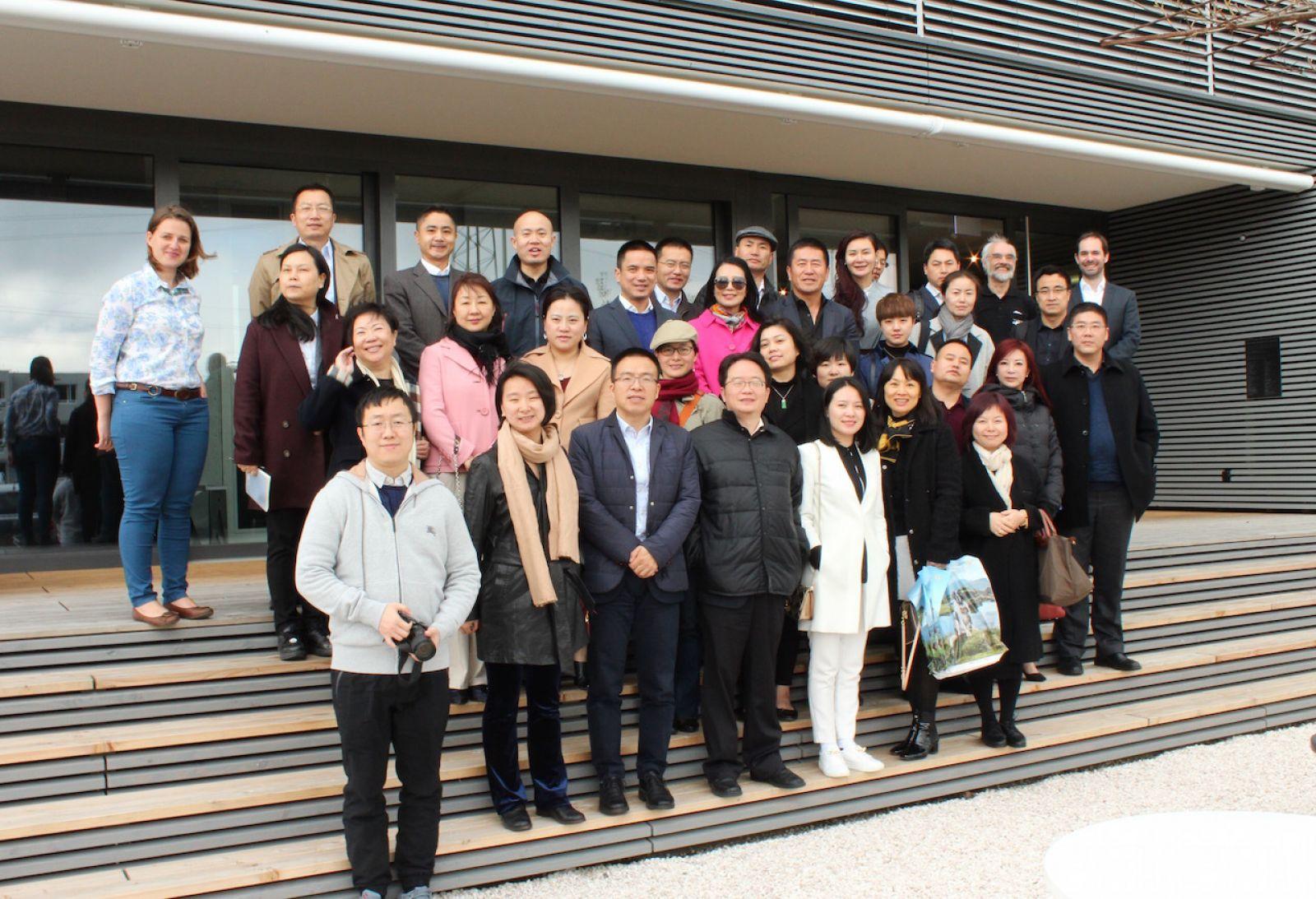 Chinese delegation visits PARK INNOVAARE