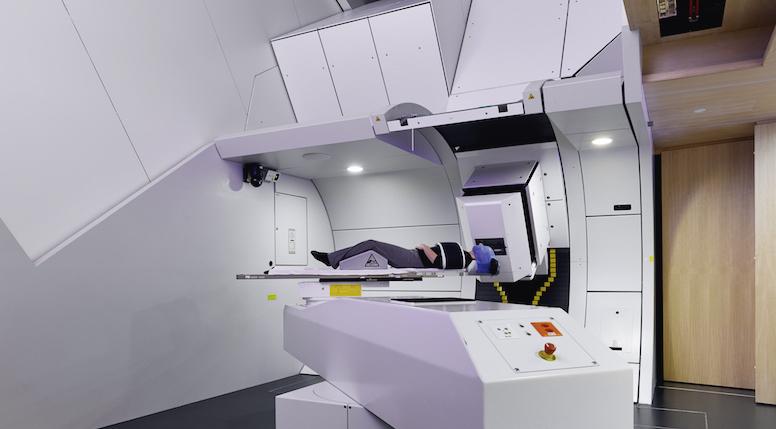 Center for Proton Therapy: Gantry 2 Facility. Photo: © Paul Scherrer Institute (PSI)