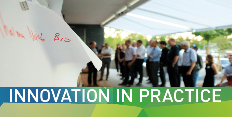 INNOVATION in PRACTICE: senior executives exchange their experience with product and technology innovation.