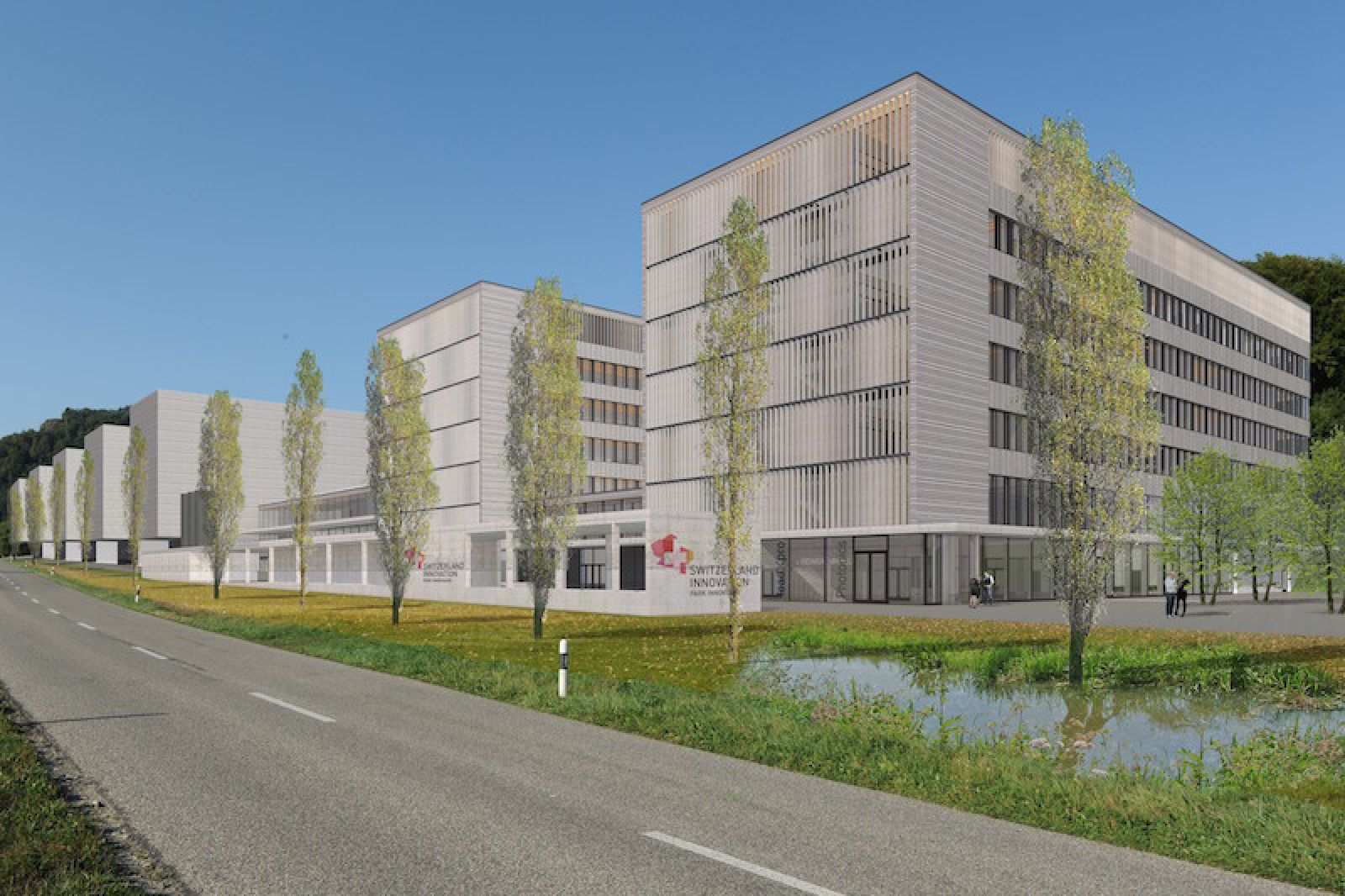PARK INNOVAARE future campus: 35,000 square meters of state-of-the-art and highly flexible areas for laboratories, clean rooms, workshops and offices.