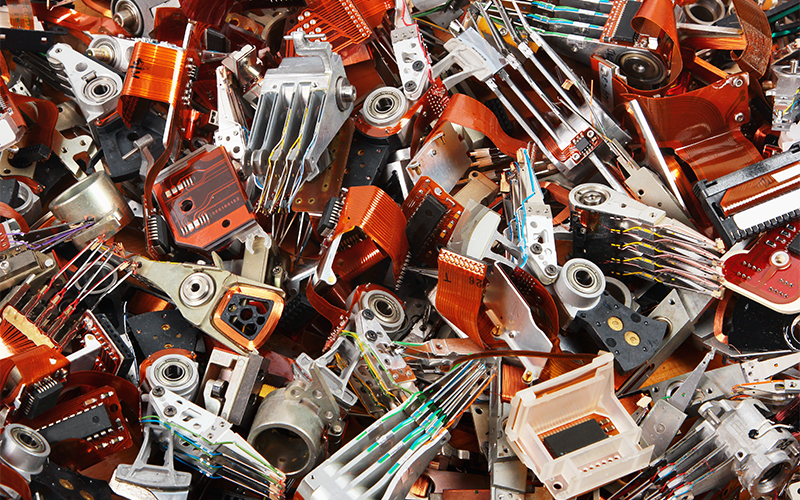 Electronic waste © aquatarkus - stock-adobe.com