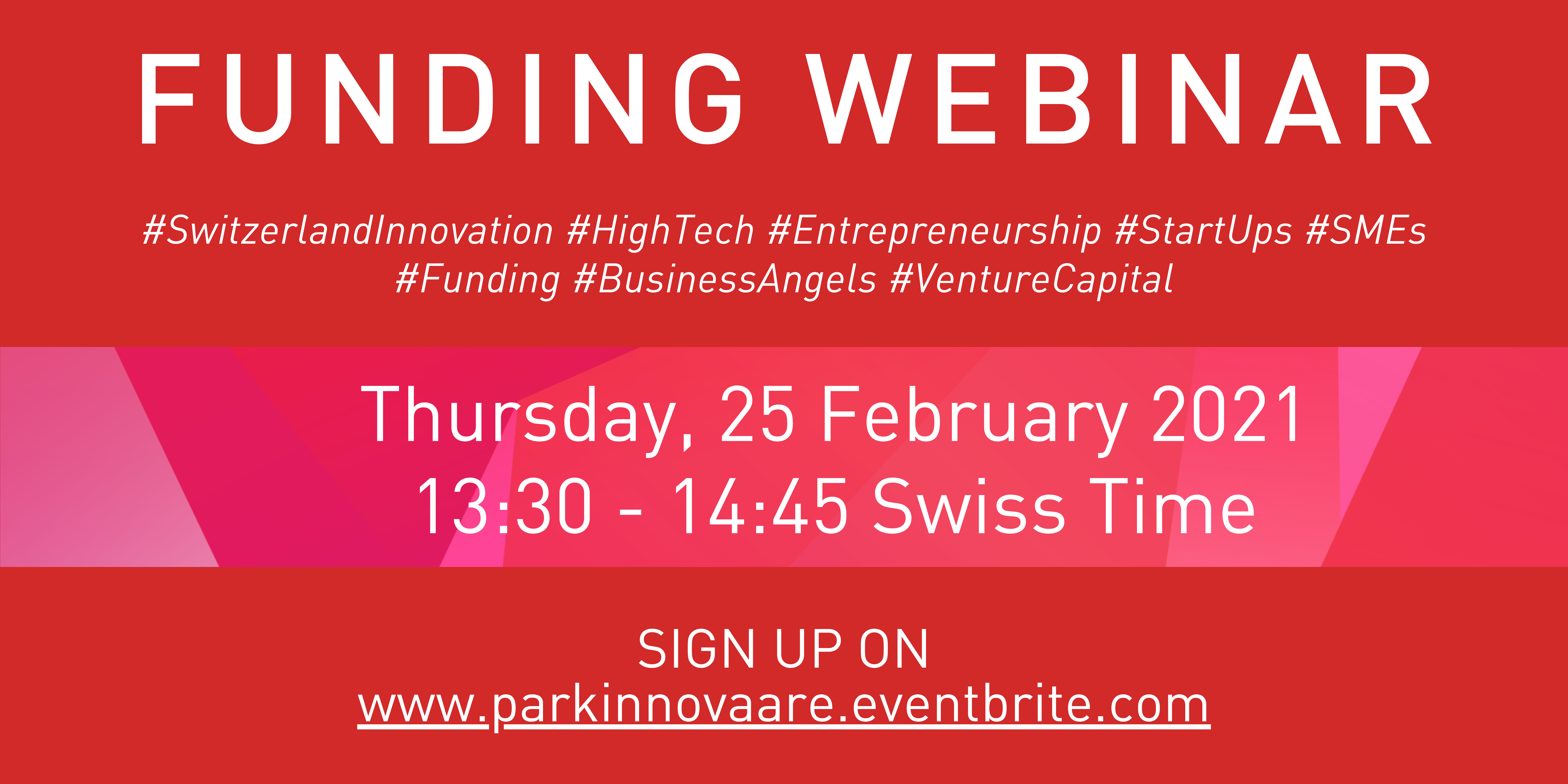 Funding Webinar for High-Tech, High-Risk & High-Potential Start-Ups & SMEs